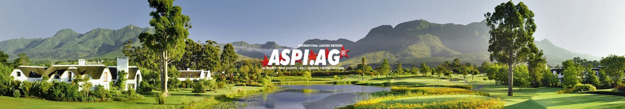 ASP Expert Broker golf courses, marinas, adventure parks, sports parks, spa's