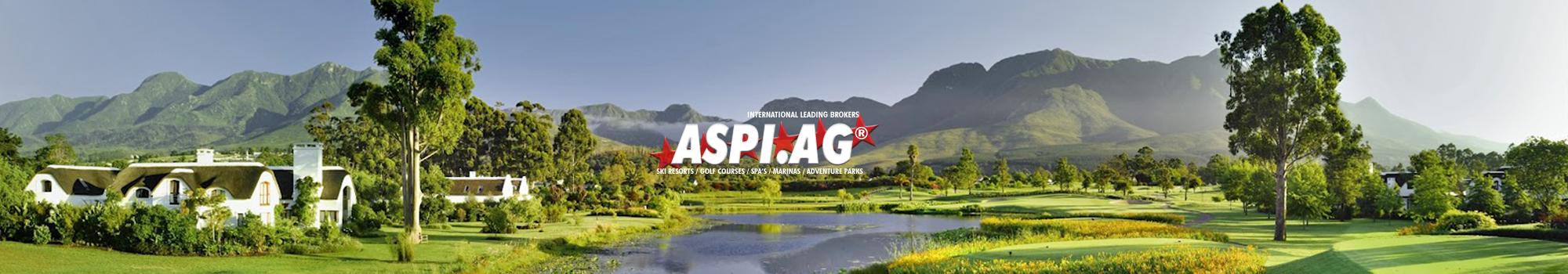 ASP Expert Broker golf courses, marinas, adventure parks, sports parks, spa's
