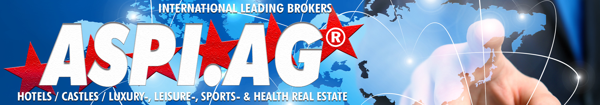 International leading Hotel Real Estate Agents and Brokers ASPI AG