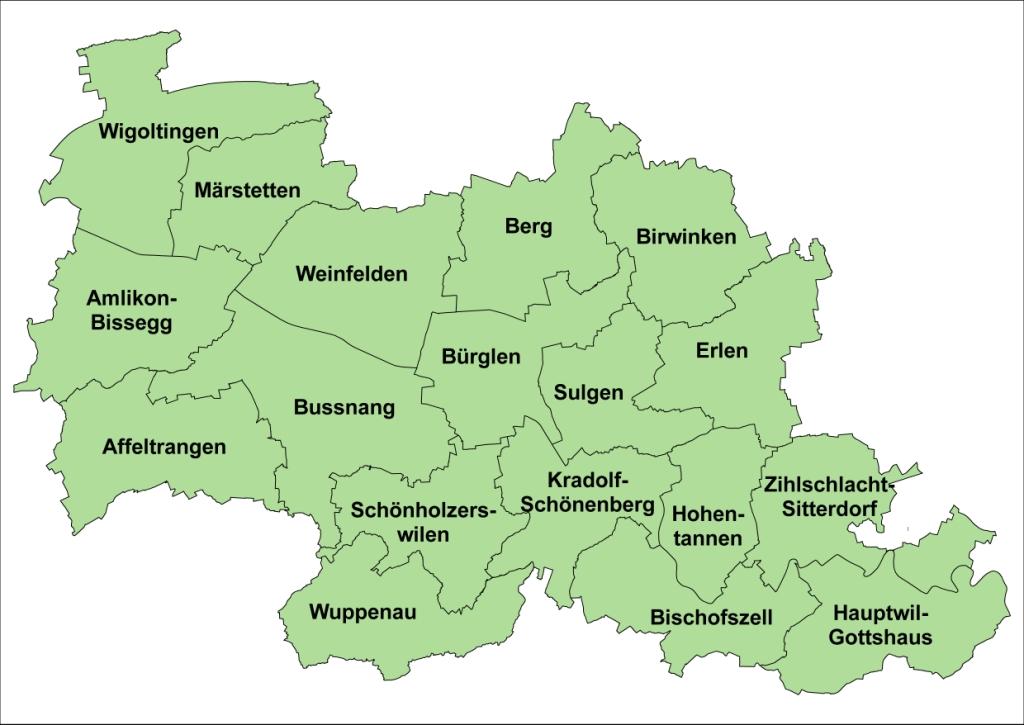 Bezirk Weinfelden