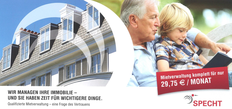 Wir managen Ihre Immobilie - und Sie haben Zeit für wichtigere Dinge