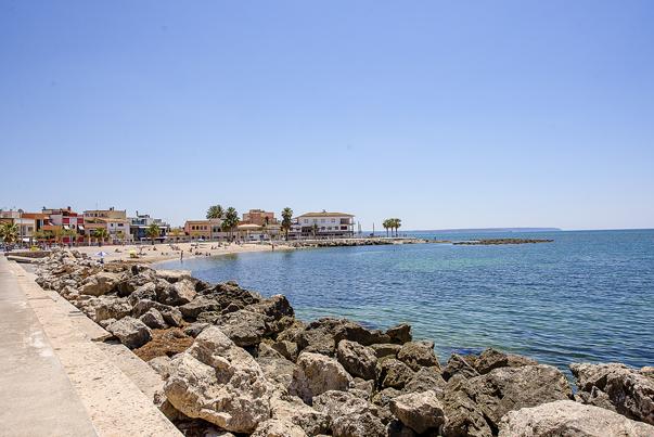 Blick auf Portixol - begehrte Immobilien auf Mallorca