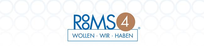 Das Logo von Rooms4