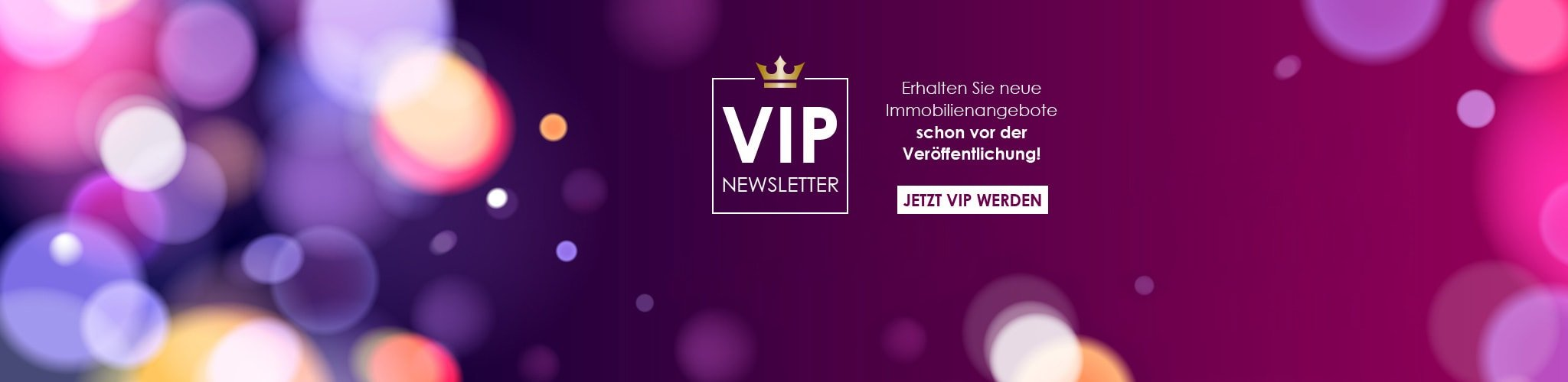 5plus Immobilien VIP Newsletter
