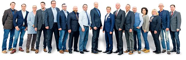 Mitglieder des Immobilien Netzwerk Aachen INA24