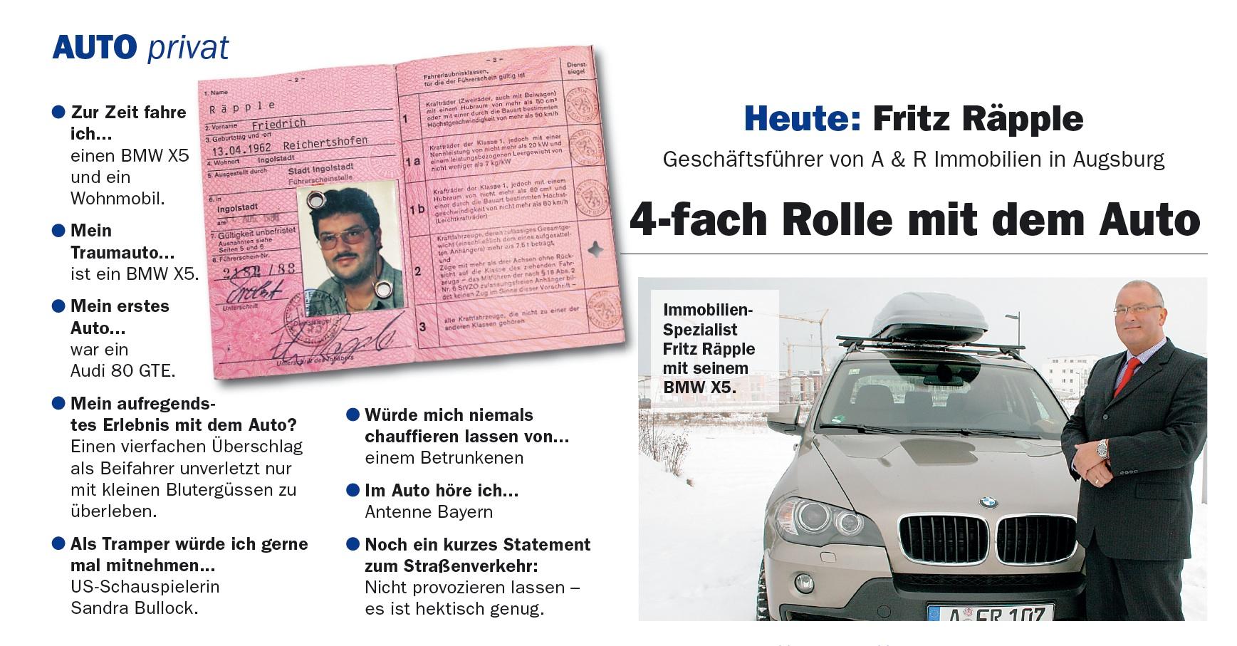 Zeitungsbericht: Auto privat