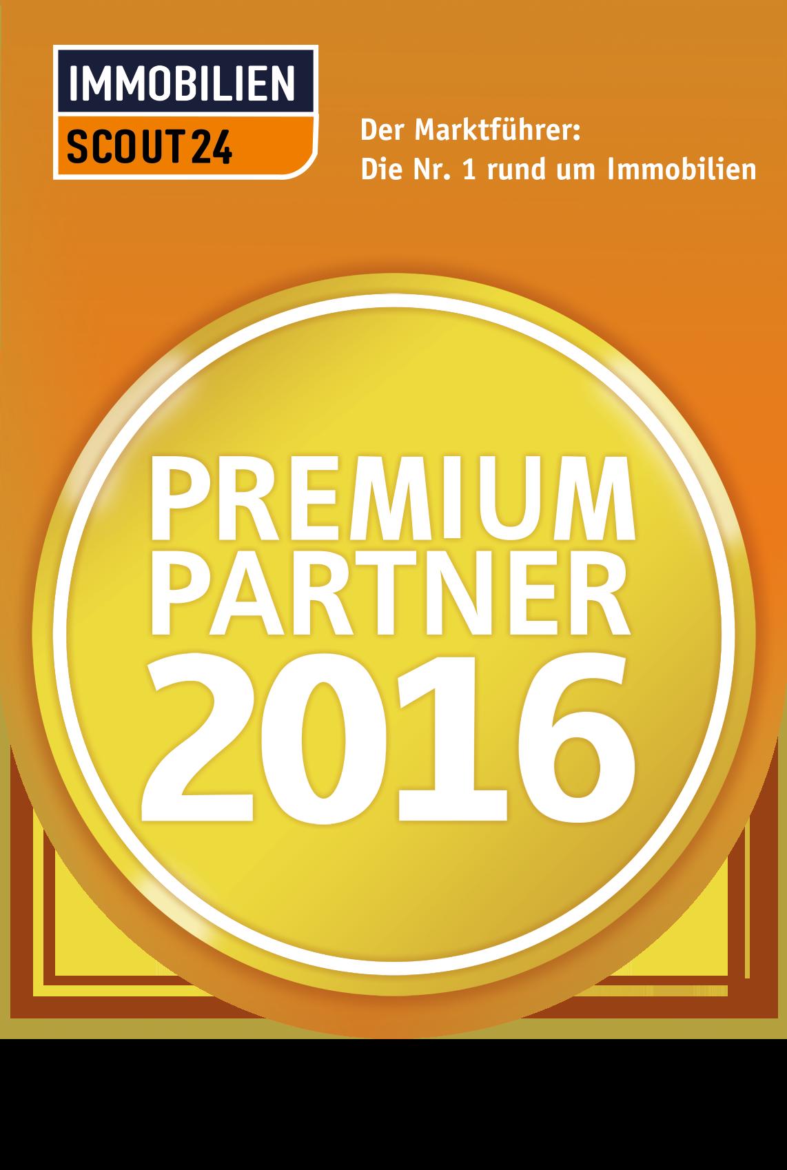 ImmobilienScout24 Premium Partner 2016