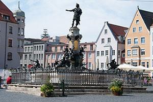 Augustusbrunnen in Augsburg
