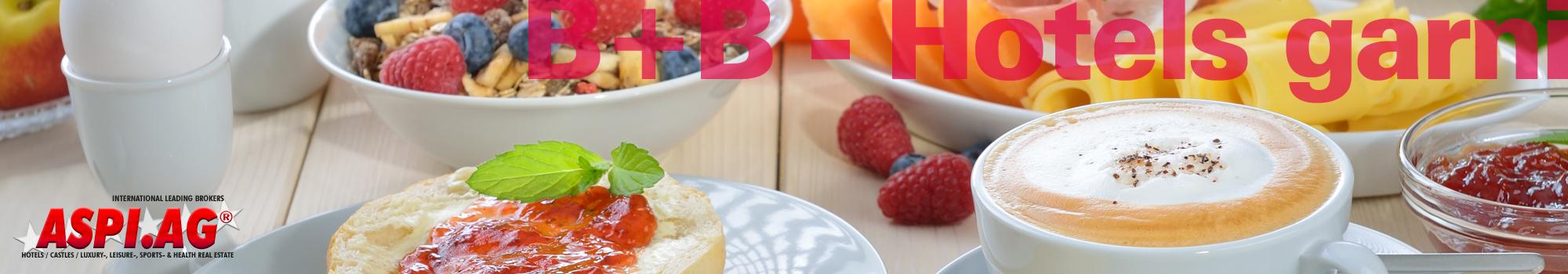 B+B Hotels garni for sale zu kaufen zu pachten bei Hotelmakler ASPI AG