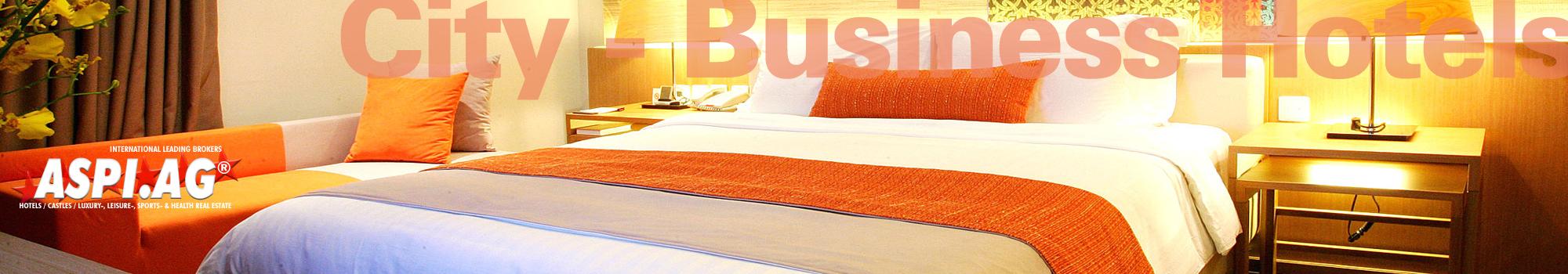 Cityhotel Stadthotel Konferenzhotel kaufen verkaufen pachten Hotelmakler ASP