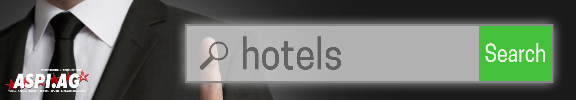 ASPI AG is looking for hotels, castles, motels for sale