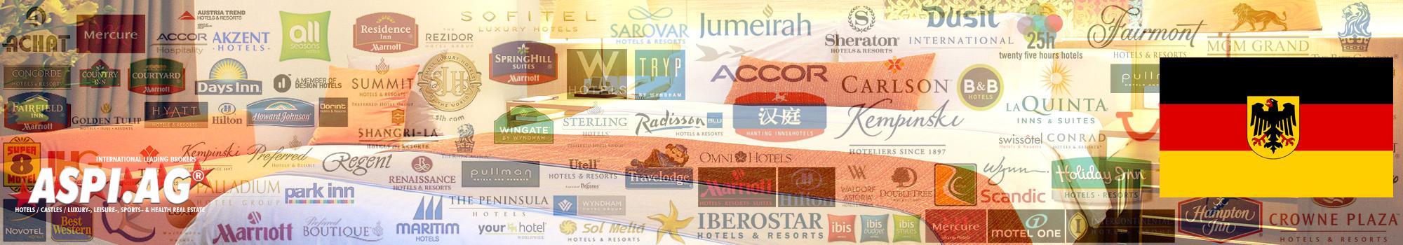Hotel for sale for lease in Germany, Bavaria, Munich, Hamburg, Berlin, Frankfurt, Stuttgart, Köln, Düsseldorf