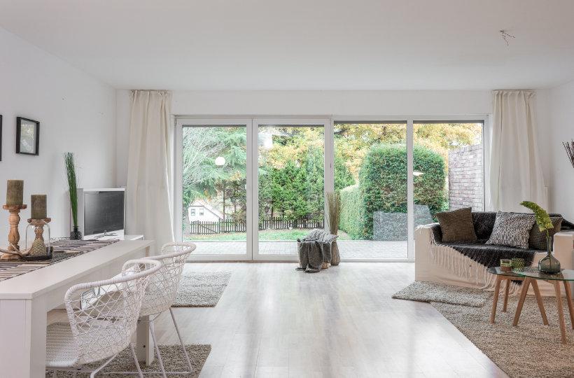 Wohnzimmer mit Homestaging