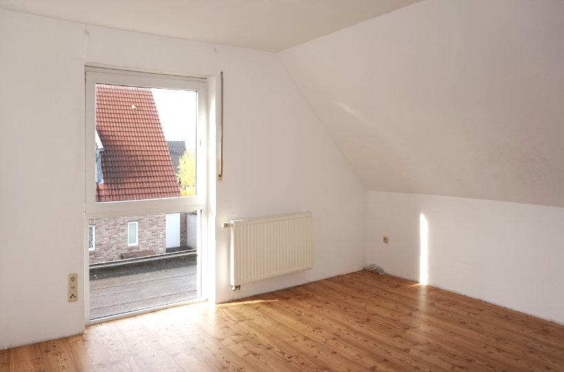 Dachgeschoss ohne Möbel