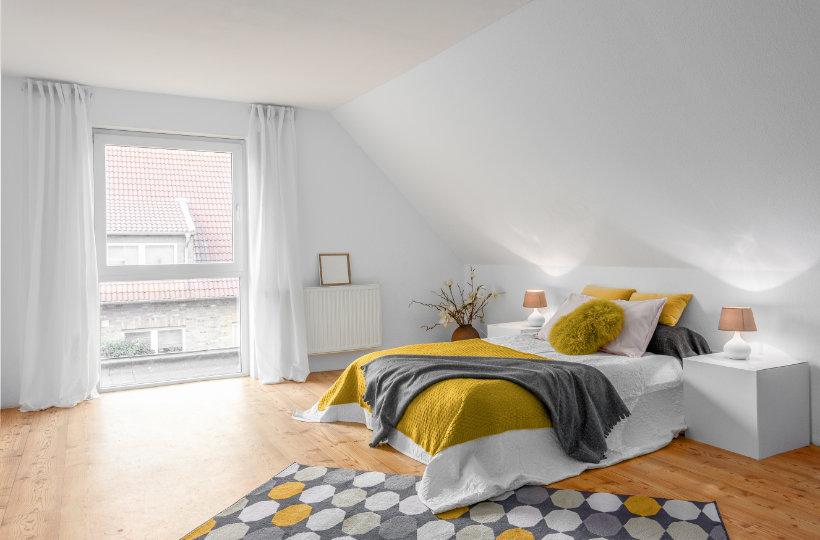 Dachgeschoss-Schlafzimmer