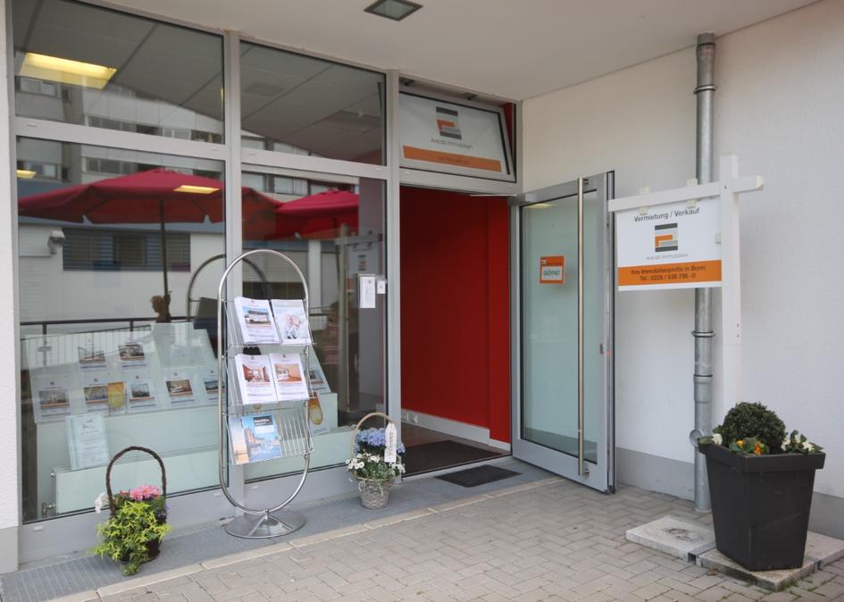 Büroräume von Arealis Immobilien