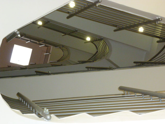 Treppenhaus modern