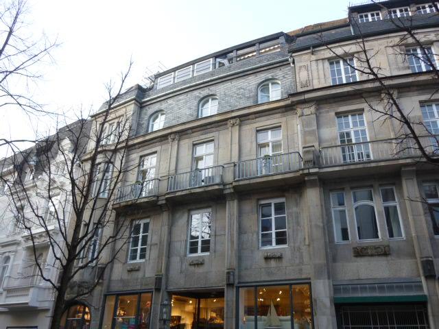 Stadtfassade in Bonn