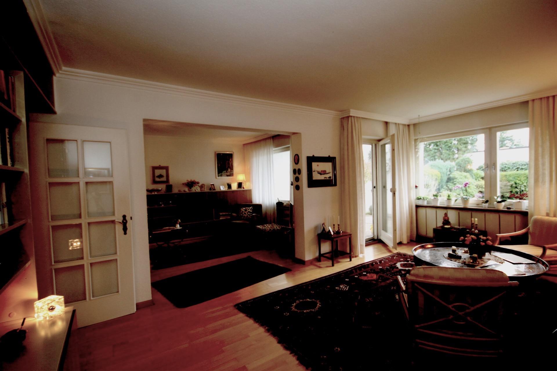 Wohnung mit falscher Belichtung