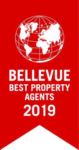 Logo Bellevue Best Property Agents 2019