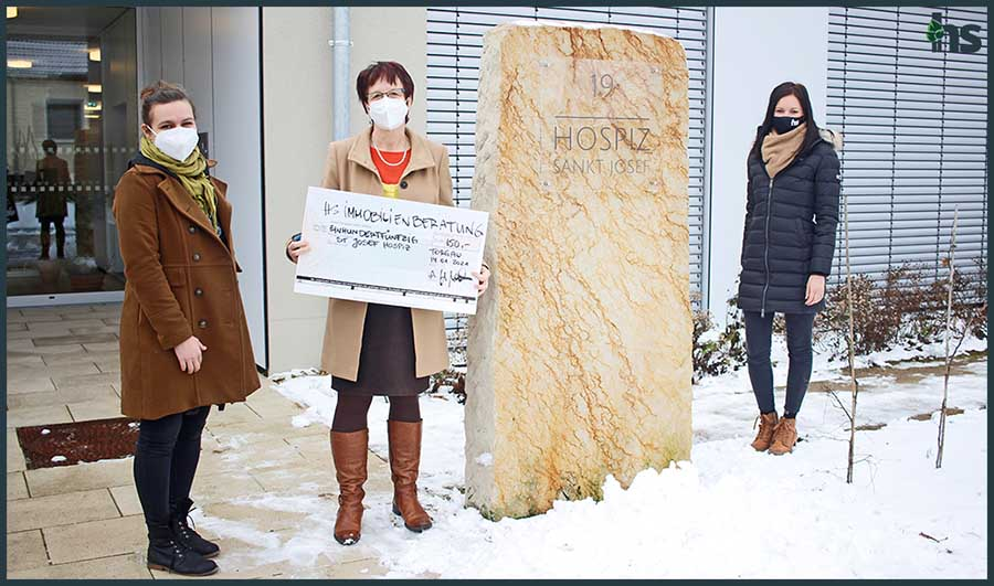 Spendenübergabe Hospiz Torgau