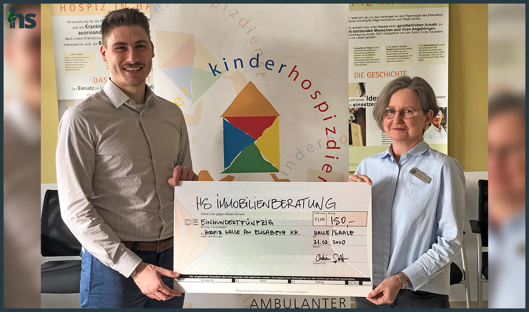 Spendenübergabe Kinderhospiz Halle