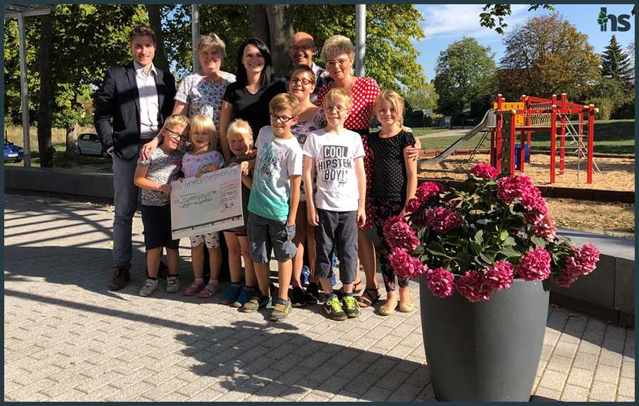 Kinder- und Jugendheim in Merseburg HS Immobilienberatung spendet