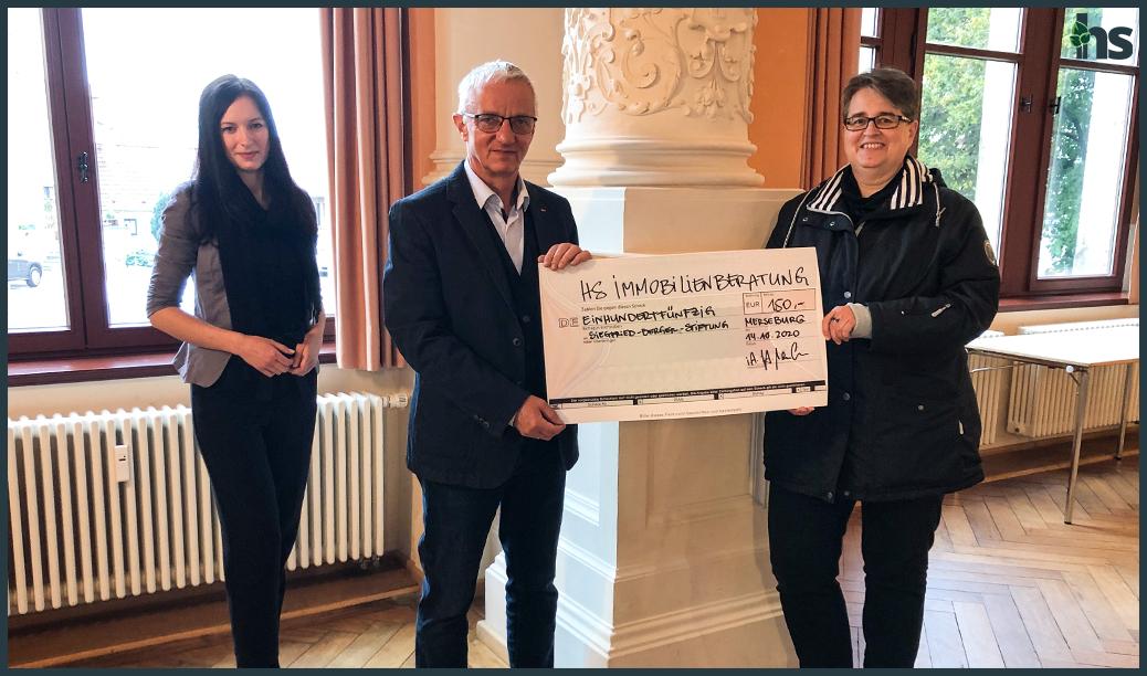 Spendenübergabe Siegfried Berger Stiftung