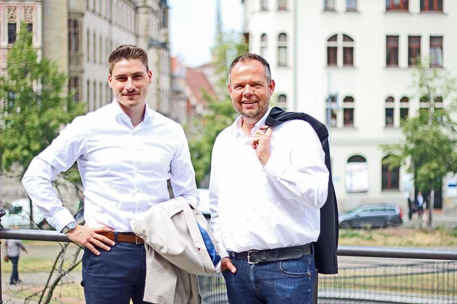 Hagen Herholdt und Christian Sporbert