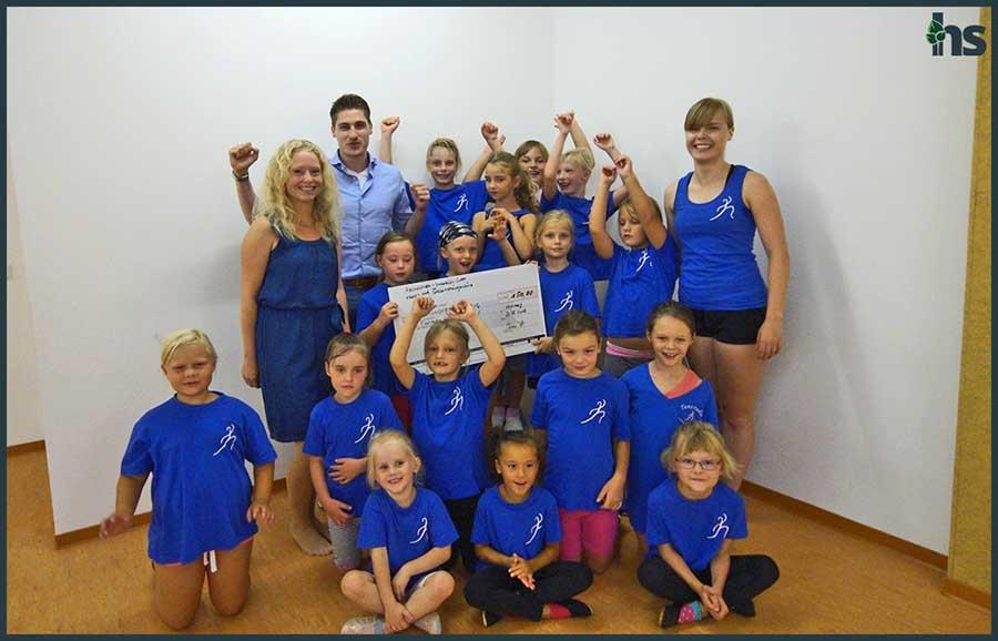 150 EUR für den Tanzverein Leuna-Merseburg e.V. I Makler spenden