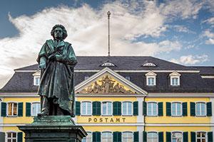 Beethovenstatue in Bonn