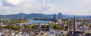 Panorama von Bonn
