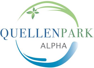 Logo Quellenpark Alpha