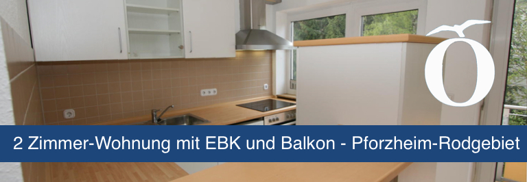 2 Zimmer Wohnung mieten Pforzheim Rodgebiet Immobilie