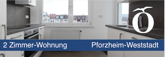 2 Zimmer Wohnung mit Einbauküche Pforzheim Weststadt