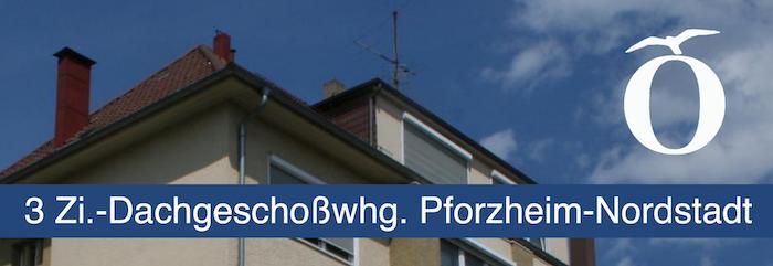 3 Zimmer Dachgeschoß Wohnung Pforzheim Nordstadt zu vermieten