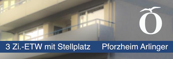3 Zimmer Eigentumswohnung mit Stellplatz Pforzheim Arlinger