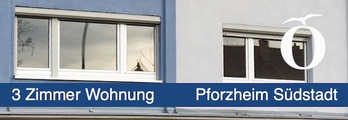 3 Zimmer Mietwohnung mit Terrasse Pforzheim Südstadt Vermietung