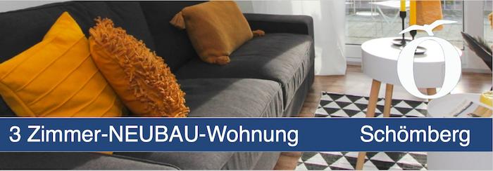 3 Zimmer Neubau Eigentumswohnung Schömberg Landkreis Calw
