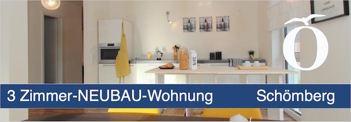 3 Zimmer Neubau Wohnung Schömberg Kreis Calw