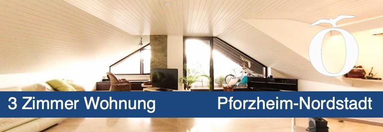 3 Zimmer Mietwohnung Pforzheim Eutingen