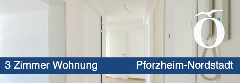 3 Zimmer Miet - Wohnung Pforzheim Nordstadt