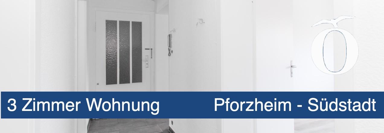 Vermietung 3 Zimmer Wohnung Pforzheim Südstadt
