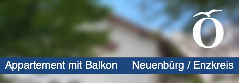 Appartmenent Neuenbürg Enzkreis Pforzheim