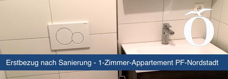 1 Zimmer Appartement Pforzheim Nordstadt Immobilien
