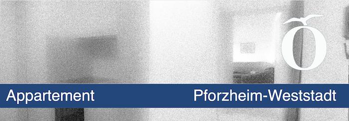 Appartement mit Einbauküche Pforzheim Weststadt