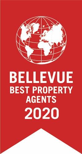 BÖCKLER Immobilien wurde 2020 erneut zum Best Property Agent durch BELLEVUE ausgezeichnet.