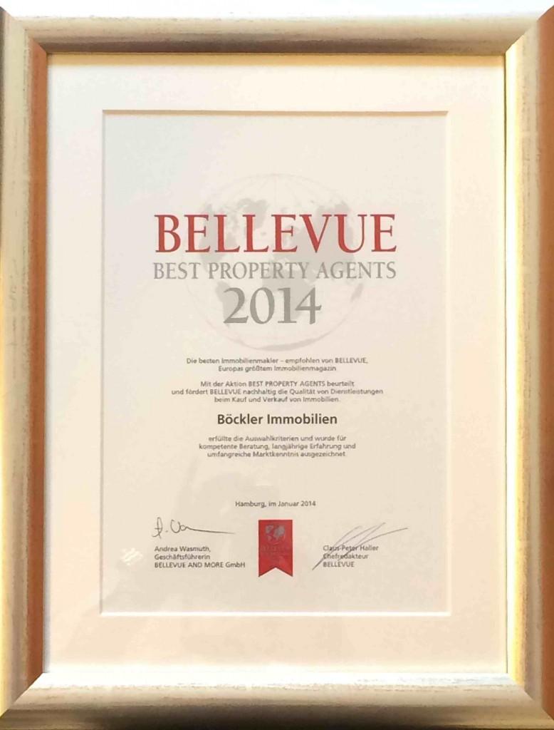 Qualitätssiegel BELLEVUE 2014