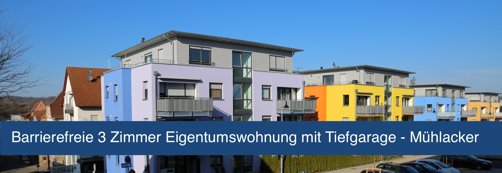 Barrierefreie Immobilie Mühlacker 3 Zimmer Eigentumswohnung
