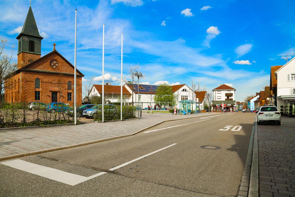 Ortsmitte Birkenfeld Enzkreis
